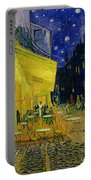 Cafe Terrace Arles Portable Battery Charger by Vincent van Gogh
