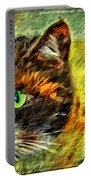 Calico Kitty Portable Battery Charger