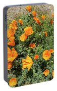 Californian Poppy Eschscholzia Portable Battery Charger