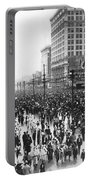 Canal Street In New Orleans Portable Battery Charger