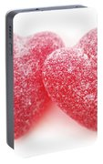 Candy Hearts Portable Battery Charger