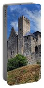 Carcassonne By Day Portable Battery Charger