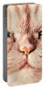 Cat Face Close Up Portrait Portable Battery Charger