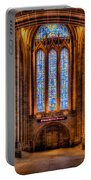 Cathedral Window Portable Battery Charger by Adrian Evans