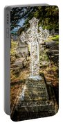 Celtic Cross Portable Battery Charger by Adrian Evans