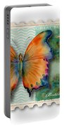 1 Cent Butterfly Stamp Portable Battery Charger