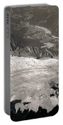 Chamonix From Above Portable Battery Charger