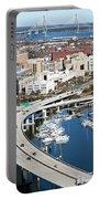 Charleston Waterfront And Marina South Carolina Portable Battery Charger