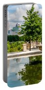 Charlotte North Carolina View From Greenway Portable Battery Charger