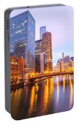 Chicago River View Portable Battery Charger