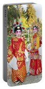 Children Dressed In Full Traditional Chinese Opera Costumes. Portable Battery Charger
