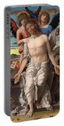 Christ As The Suffering Redeemer  Portable Battery Charger