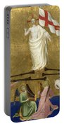 Christ Glorified In The Court Of Heaven Portable Battery Charger