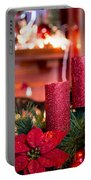 Christmas Candles Portable Battery Charger