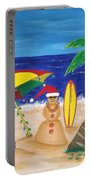 Christmas In Kona Portable Battery Charger