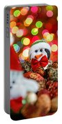Christmas Penguin Portable Battery Charger