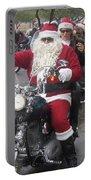 Christmas Toys For Tots Santa On Motorcycle Casa Grande Arizona 2004 Portable Battery Charger