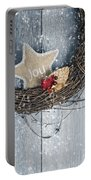Christmas Wreath Portable Battery Charger