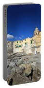 church in Camogli Portable Battery Charger