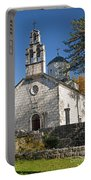 Church In Cetinje Montenegro Portable Battery Charger