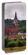 Church Of Our Lady  Oberwesel Am Rhein Portable Battery Charger