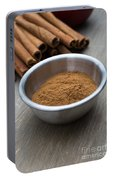 Cinnamon Spice Portable Battery Charger