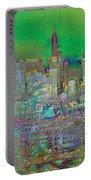 City Garden Art Landscape Portable Battery Charger