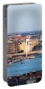 City Of Budapest At Sunset Portable Battery Charger