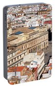 City Of Seville Cityscape In Spain Portable Battery Charger