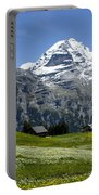 Classic Swiss Alps Portable Battery Charger