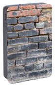 Close-up Of Old Brick Wall Portable Battery Charger