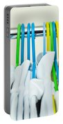 Clothes Hangers Portable Battery Charger by Tom Gowanlock
