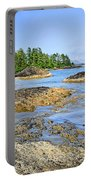 Coast Of Pacific Ocean On Vancouver Island Portable Battery Charger