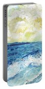 Coastal Clouds Portable Battery Charger