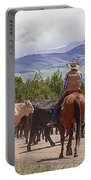 Colorado Cowboy Cattle Drive Portable Battery Charger