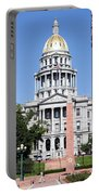 Colorado State Capitol Building Denver Portable Battery Charger