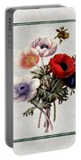 Colorful Anemones Square Portable Battery Charger