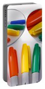 Colorful Markers Portable Battery Charger