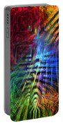 Colorful Psychedelic Abstract Fractal Art Portable Battery Charger
