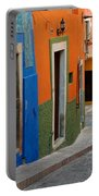 Colorful Street, Mexico Portable Battery Charger