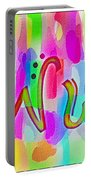 Colorful Texturized Alphabet Ww Portable Battery Charger