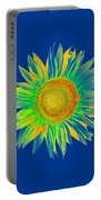 Colourful Sunflower Portable Battery Charger