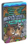 Colours Of Africa Portable Battery Charger