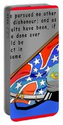 Confederate States Of America Robert E Lee Portable Battery Charger
