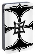 Coptic Cross Portable Battery Charger