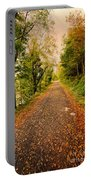 Country Lane Portable Battery Charger by Adrian Evans