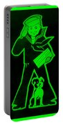 Crackerjack Green Portable Battery Charger