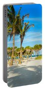 Crandon Park Beach Portable Battery Charger