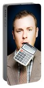 Credit Crunch Or Financial Struggle Portable Battery Charger