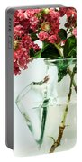 Crepe Myrtle In A Vase Portable Battery Charger